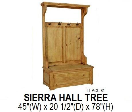 Rustic Hall Tree