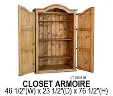 Load image into Gallery viewer, Closet Armoire