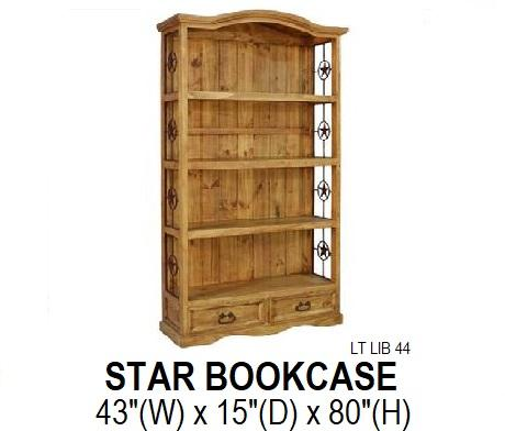 Star Bookcase