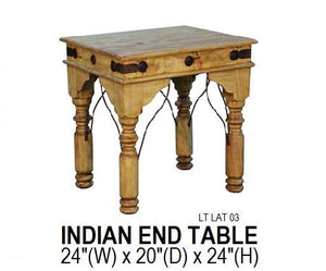Indian End Table