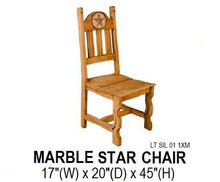 Load image into Gallery viewer, Star Marble Chair