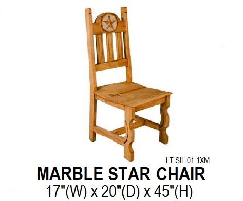 Star Marble Chair