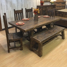 Load image into Gallery viewer, Bonanza Trestle Dining Set