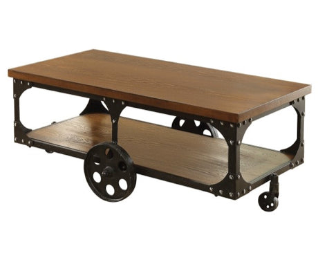 Casters Coffee Table