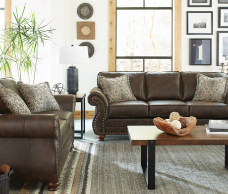 Graceville Sofa and Loveseat