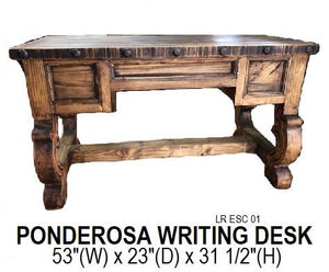 Ponderosa Writing Desk