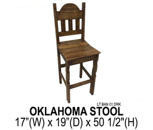 Oklahoma Stool (Dark)