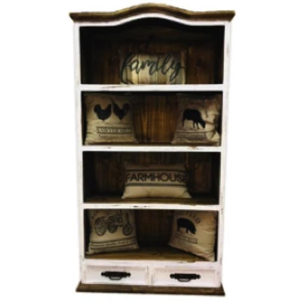 Gatlinburg 2 Drawer Bookshelf