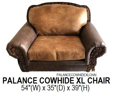 Palance Cowhide XL Chair