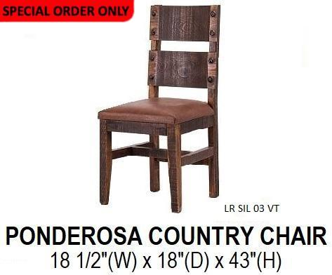 Ponderosa Country Chair