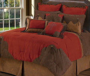 Red Rodeo Bedding Set