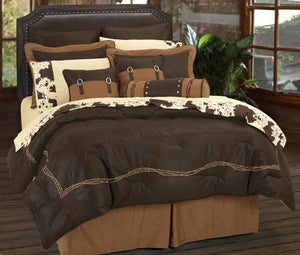 Chocolate Barbedwire Bedding Set