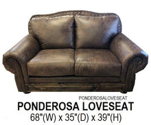 Load image into Gallery viewer, Ponderosa Sofa Set