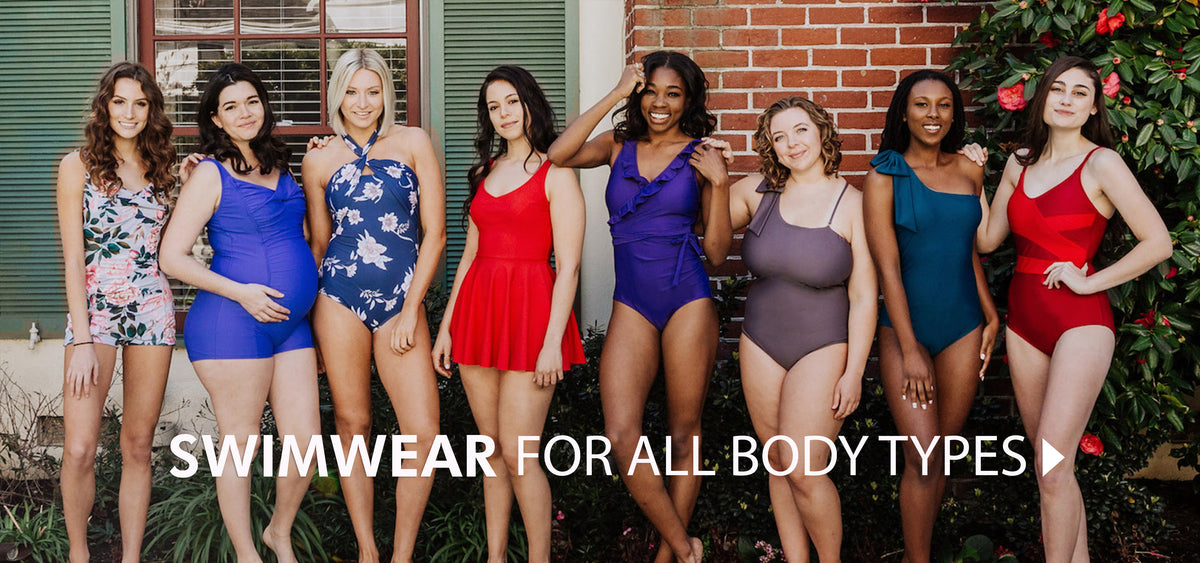 e1801d305e7e3 The best one piece swimsuits and tankinis. Ethically made in the USA