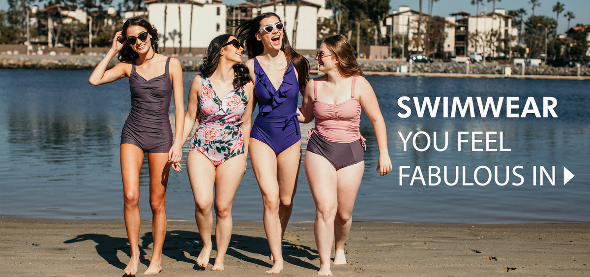 d76432362b The best one piece swimsuits and tankinis. Ethically made in the USA