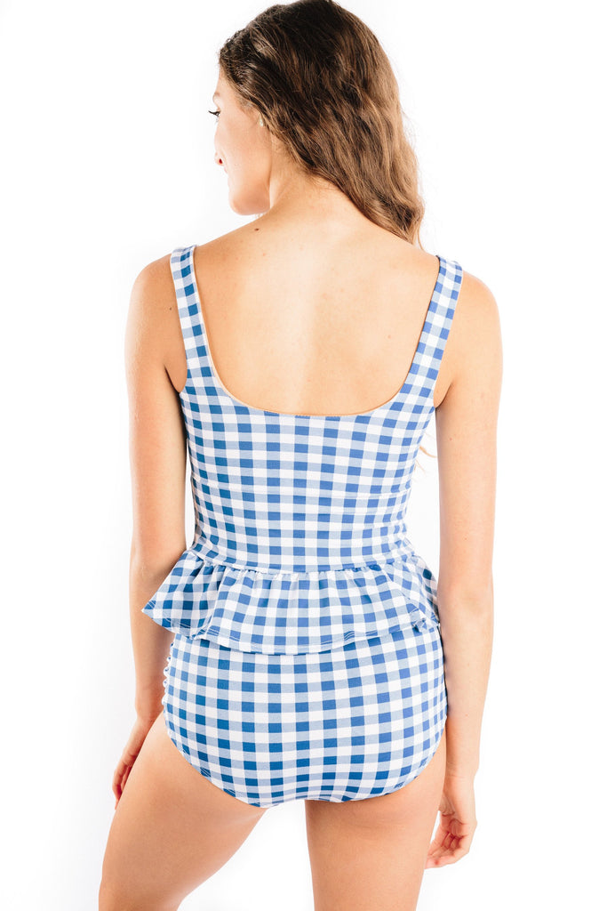 celia in gingham