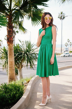 audrey dress in kelly