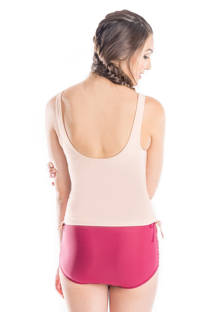 karen in ballerina pink top