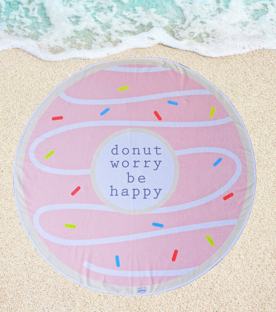 'Donut Worry Be Happy' Roundie