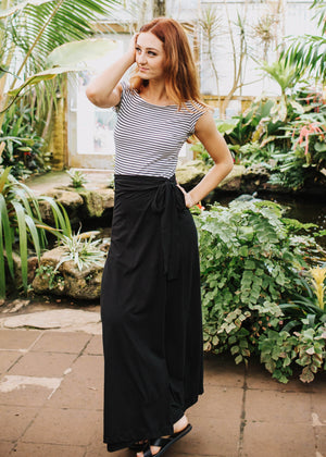 the florence skirt in black