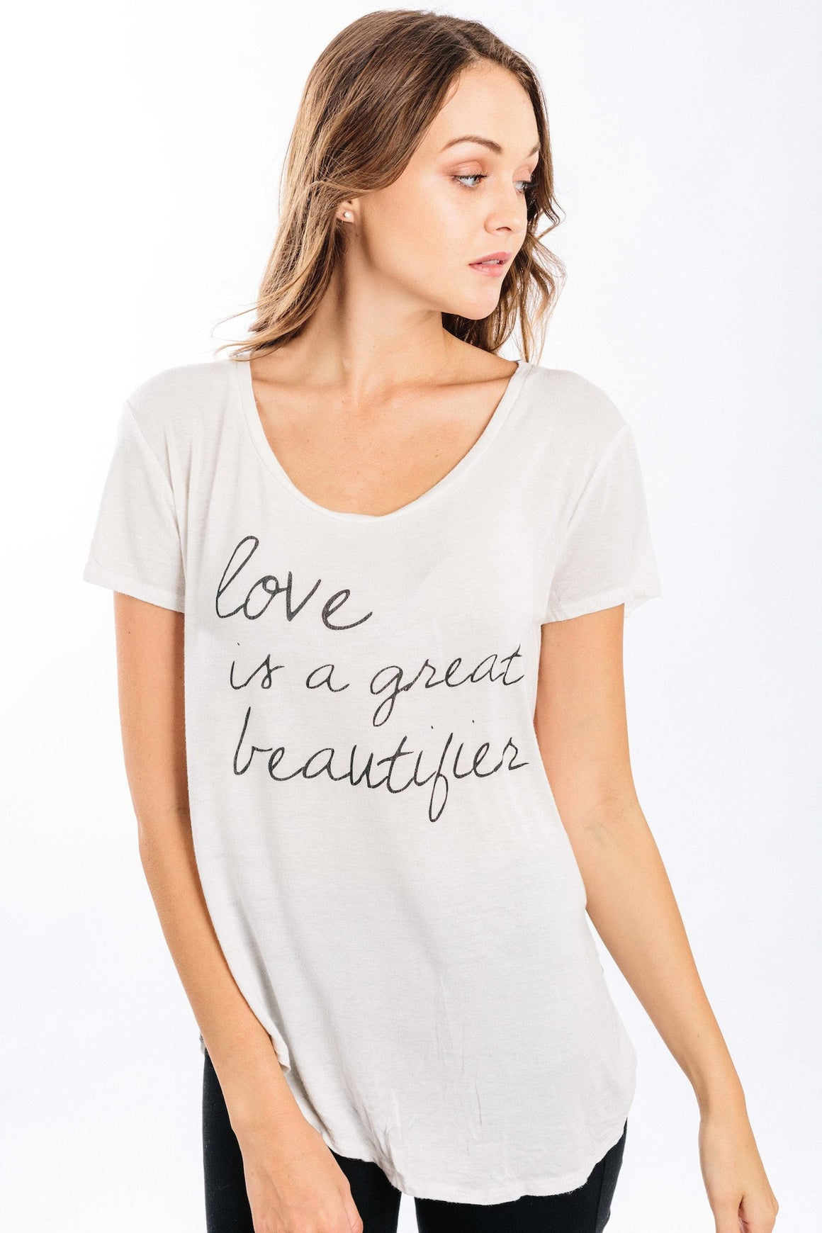 love is a great beautifier tee