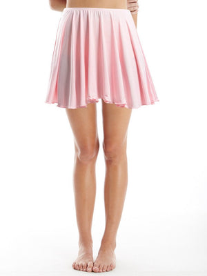 skirt in bubblegum