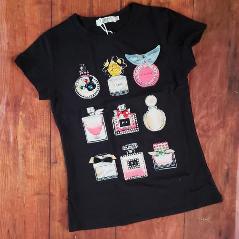 Blusa T-shirt graphic Ref. VOR305
