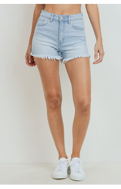 THE MARY SHORTS - LIGHT DENIM