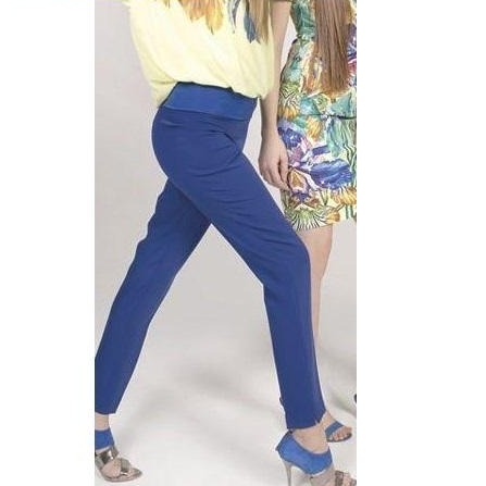 Silky Royal Blue Pants - Eurockk.com
