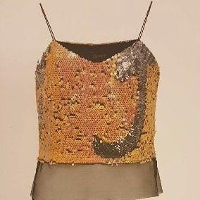 Paillettes Sequins Evening Top - Eurockk.com