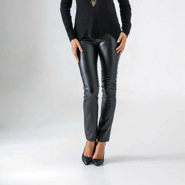 French Leather Pant - Eurockk.com