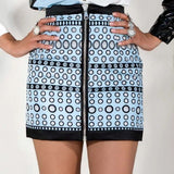 Zipper Polka Dots Skirt - Eurockk.com