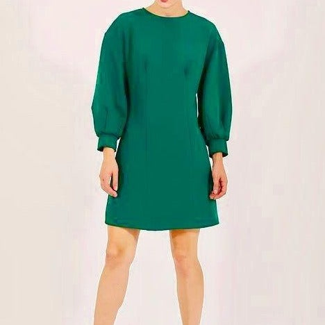 Rule Oversized Sleeves Dress - Eurockk.com