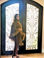 Heavenly Cashmere and Fox Shawl - Eurockk.com