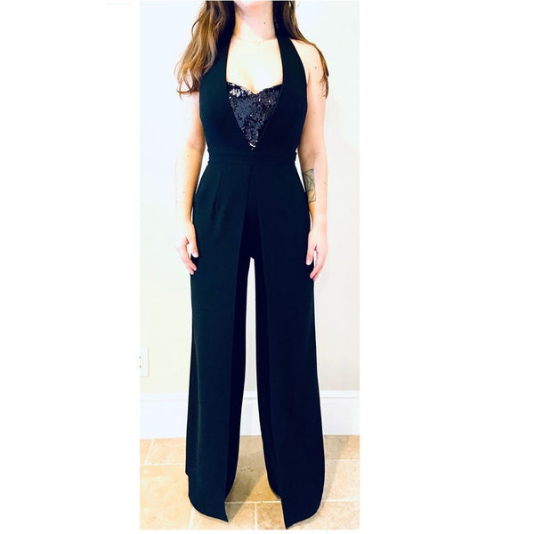 Starry Nights Evening Jumpsuit - Eurockk.com