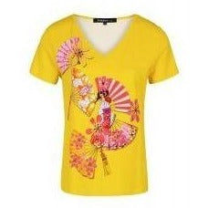 Ole Embellished Yellow T-Shirt - Eurockk.com