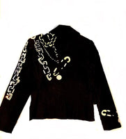 Royals Embroidered Jeans Jacket - Eurockk.com