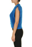 Warm Blue Knit Top - Eurockk.com