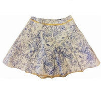 Graphic Invasion Yellow Trim Skorts - Eurockk.com