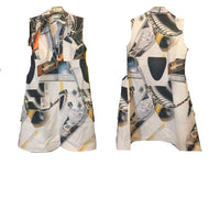 Robotic Tapestry A-Line Dress - Eurockk.com