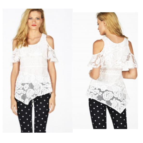 Retro Asymmetrical Top - Eurockk.com