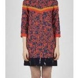Coral Graphic Tapestry dress - Eurockk.com