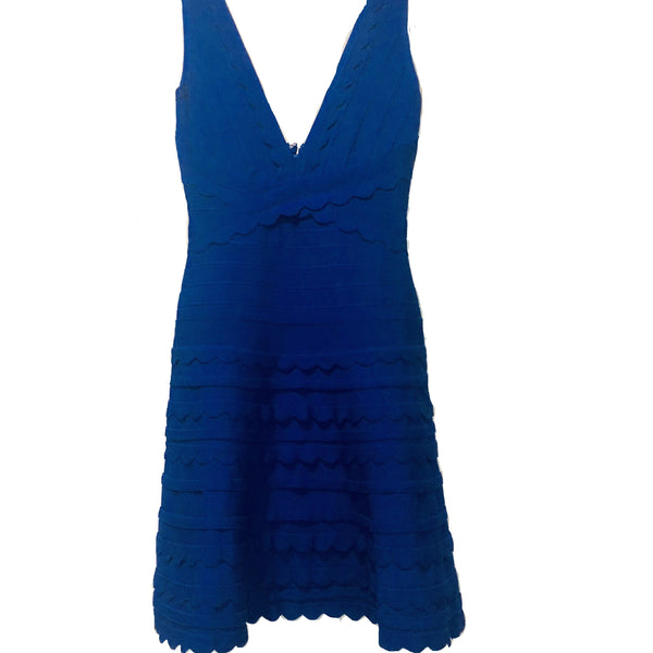 Blue Bandage Dress - Eurockk.com