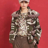 Trexy Fitted Army Wool Jacket - Eurockk.com