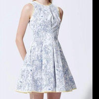 Space Invasion White Dress - Eurockk.com
