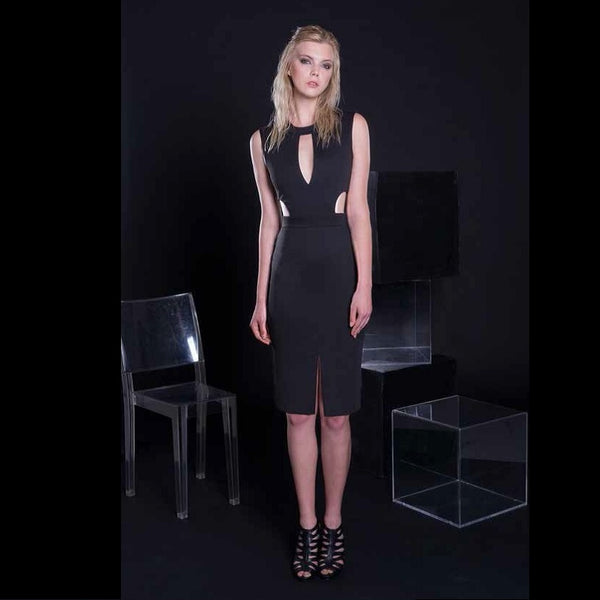 Freeda Acrux Black Dress - Eurockk.com