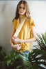 Yellow Long Skinny Scarf