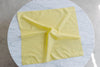 Yellow Scalloped Edge Bandana