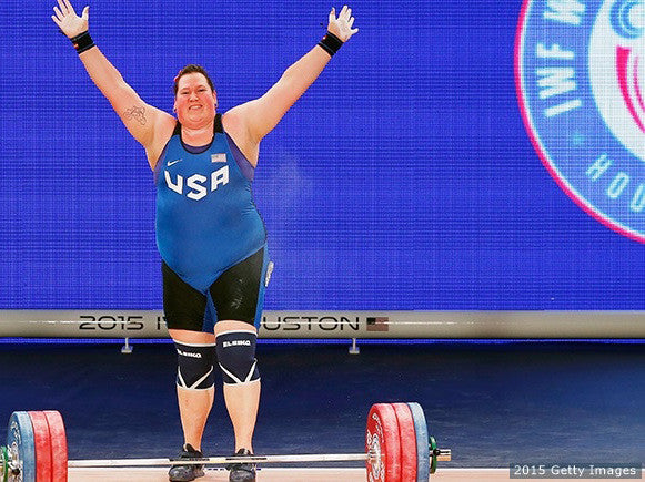 Congratulations to USAW Olympian Sarah Robles