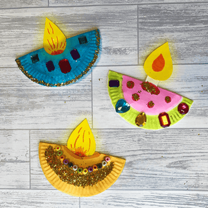 Diwali Lamps - Crafts with Eduzone